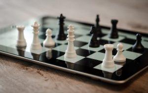 chess, ipad, 3d