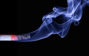 cigarette, smoke, embers