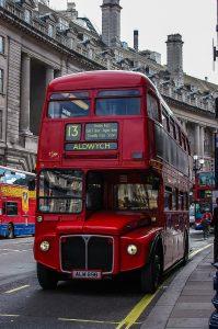 london, britain, bus