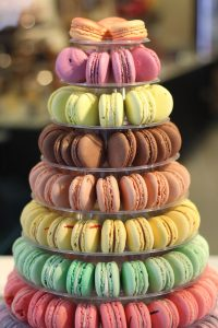 macarons, colorful, french